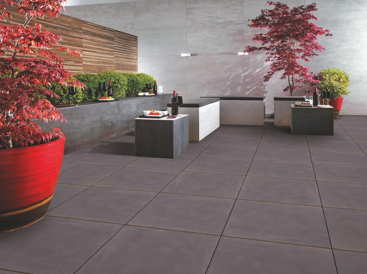 carrelage de sol dans villa architecte sur Draguignan